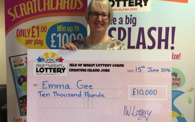 Emma Is Our £10k Winner