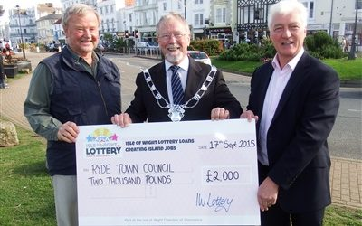IW Lottery's winning ticket for Ryde
