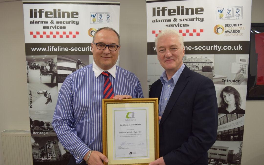 Quality in Business: Lifeline Alarm Systems