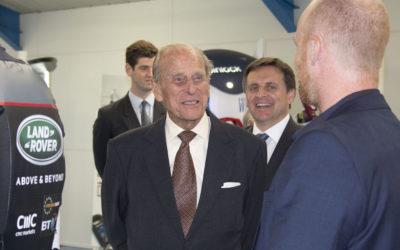 Spinlock staff enjoy a Royal visit
