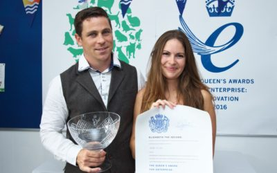 Queen's Award presented to The Mobile Vet