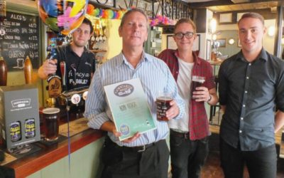 250,000th pint of Fuggle served at The Anchor