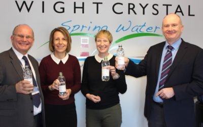 Wightlink Isle of Wight Ferries to sell Wight Crystal Water