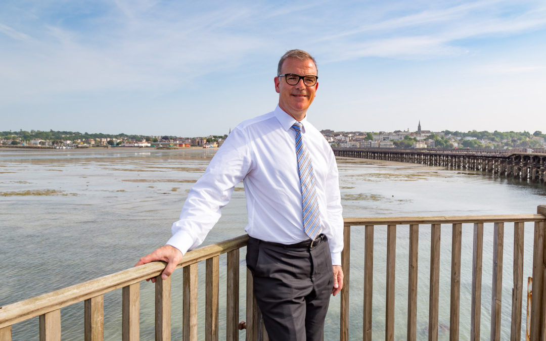 THE INTERVIEW Keith Greenfield, CEO at Wightlink Ferries
