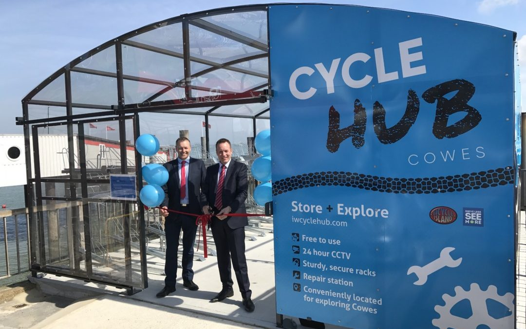 Cowes Cycle Hub opens for business