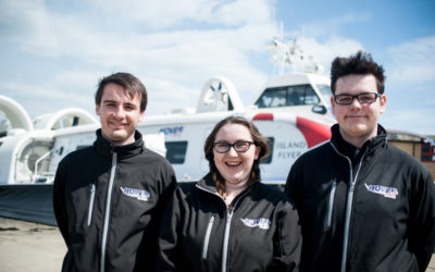 Nine new apprentices for Hovertravel