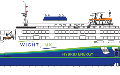 Wightlink's new ferry named Victoria of Wight