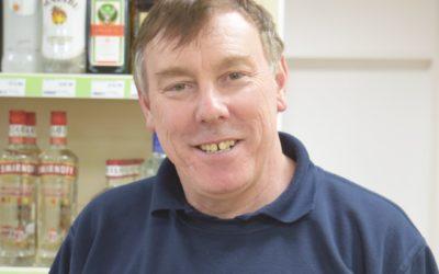 Dave Parkman, Cowes convenience store owner