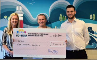 Meet Peter our latest 5k Isle of Wight Lottery winner!
