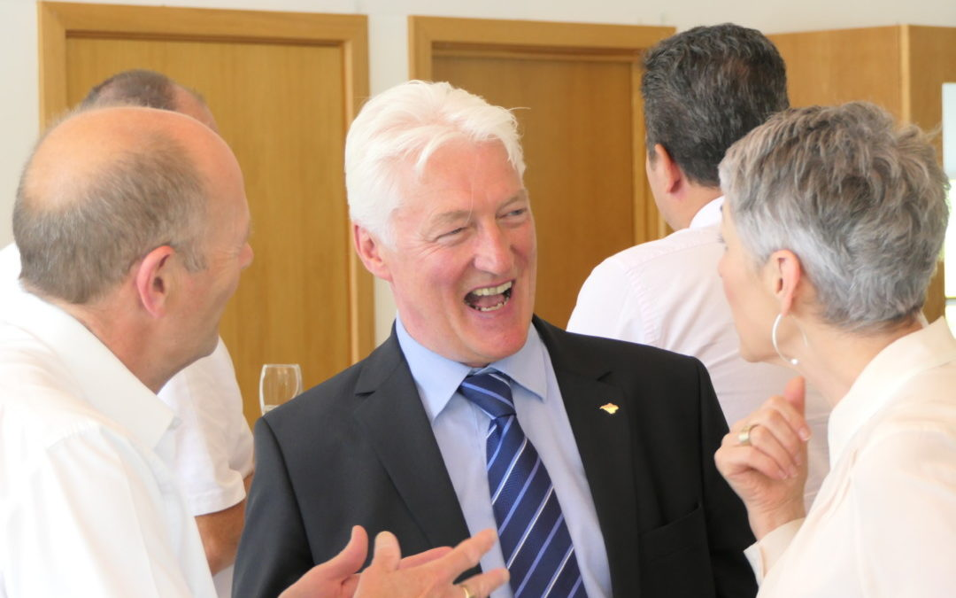 Kevin Smith retires as the Chamber's Chief Executive