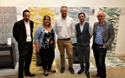 Brightbulb Design and AJ Wells showcased at event