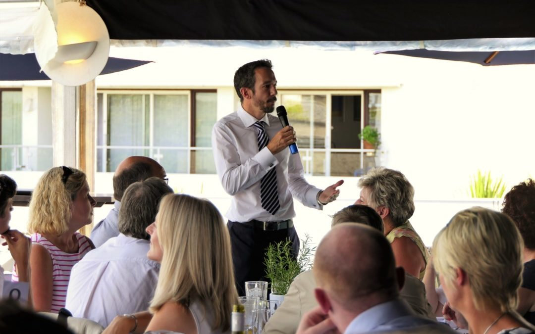 IW Chamber Cowes Week Lunch 2018