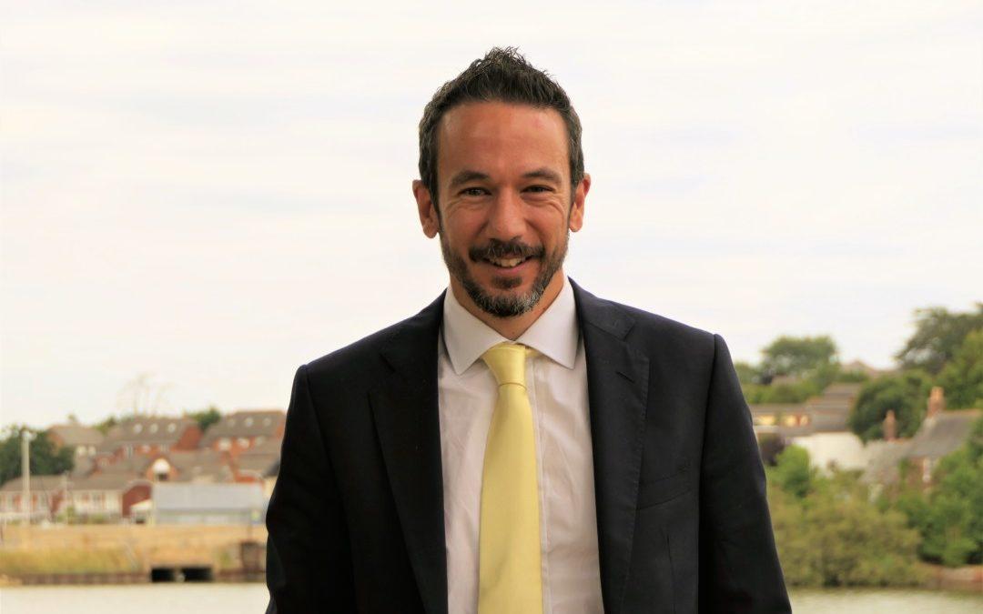 Meet Steven Holbrook, the Chamber's new CEO