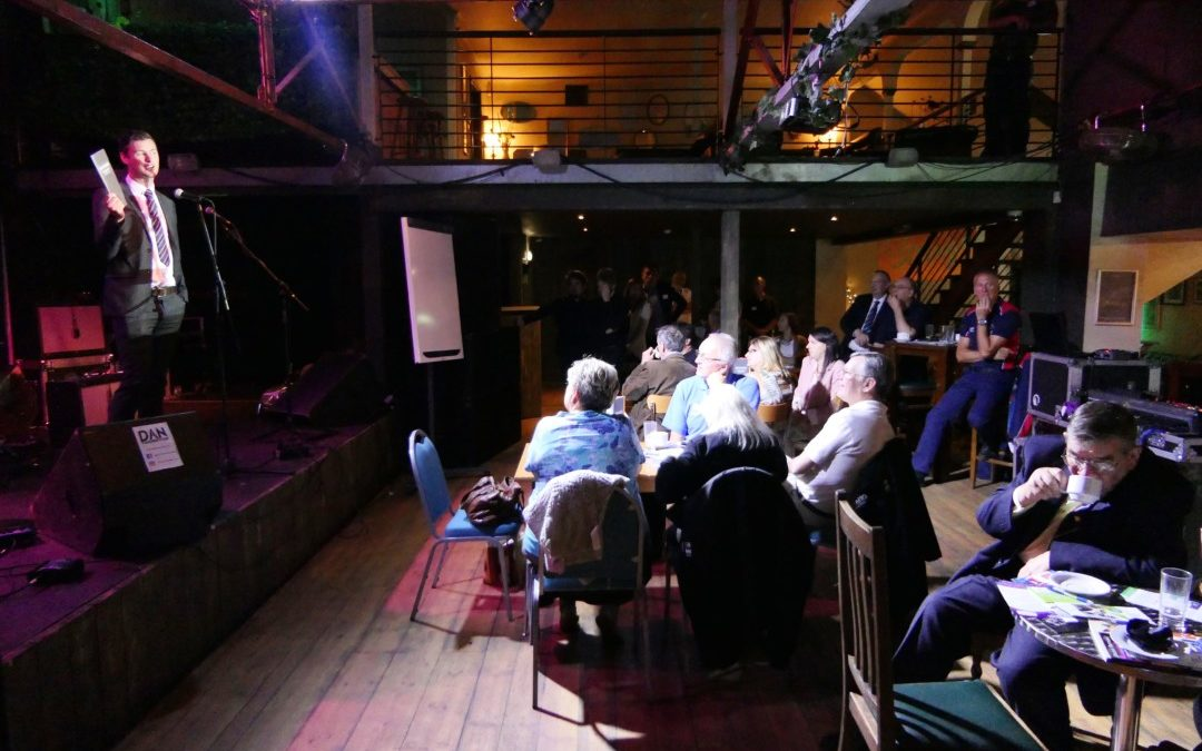 Business networking at Strings Bar & Venue in Newport