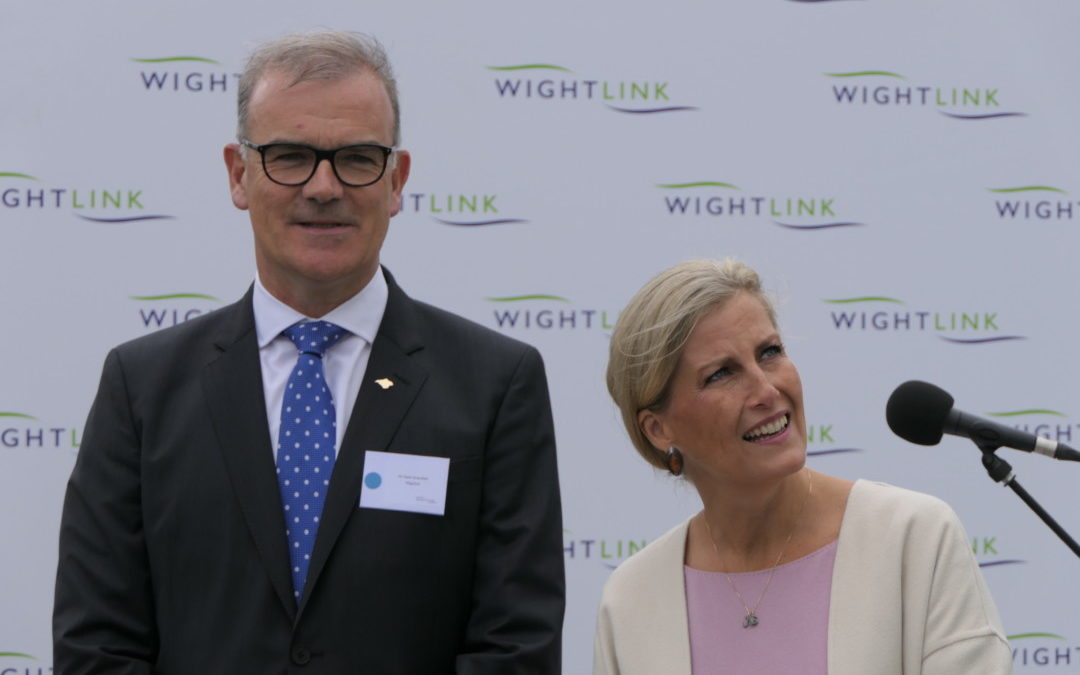 Wightlink's Victoria of Wight named