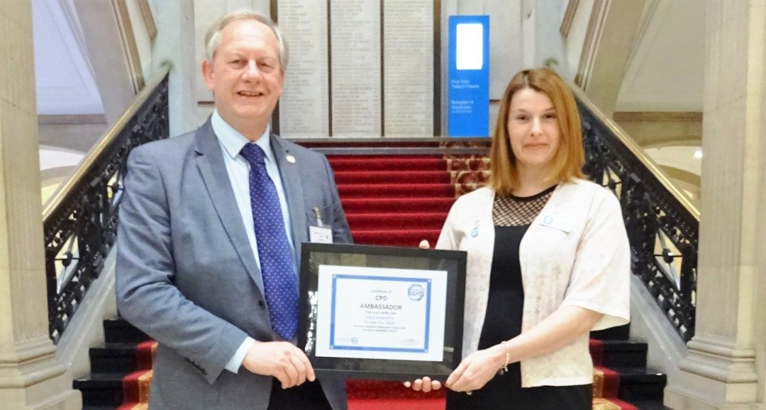 Dale Howarth appointed CPD Ambassador