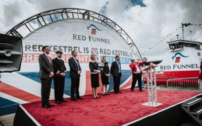 Red Funnel's freight ferry spotlights UK shipbuilding