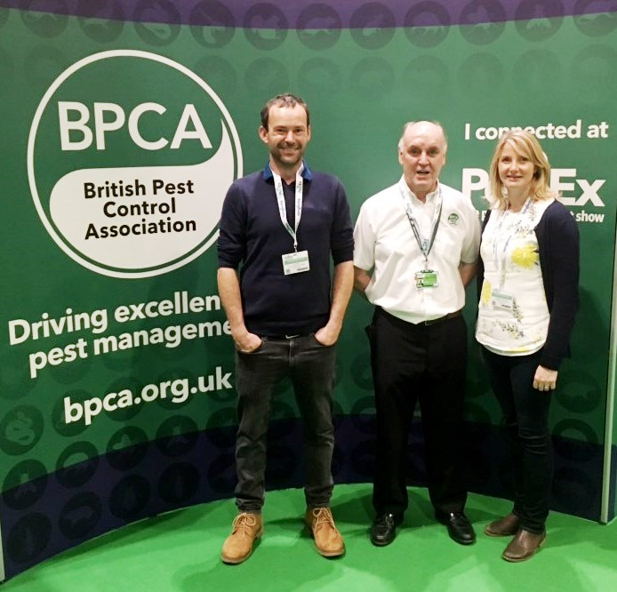 BPCA invite Hillbans Pest Control to PestEx at Excel, London
