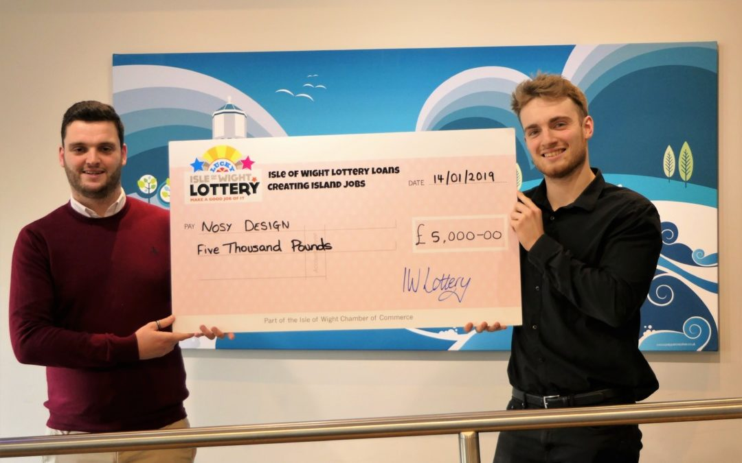£5k IW Lottery boost for Nosy Design