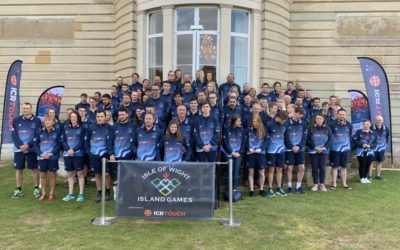 Island Games team backed by Island businesses