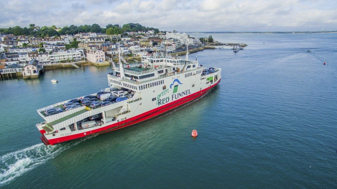 Red Funnel's 'Red Goes Green' environment strategy update