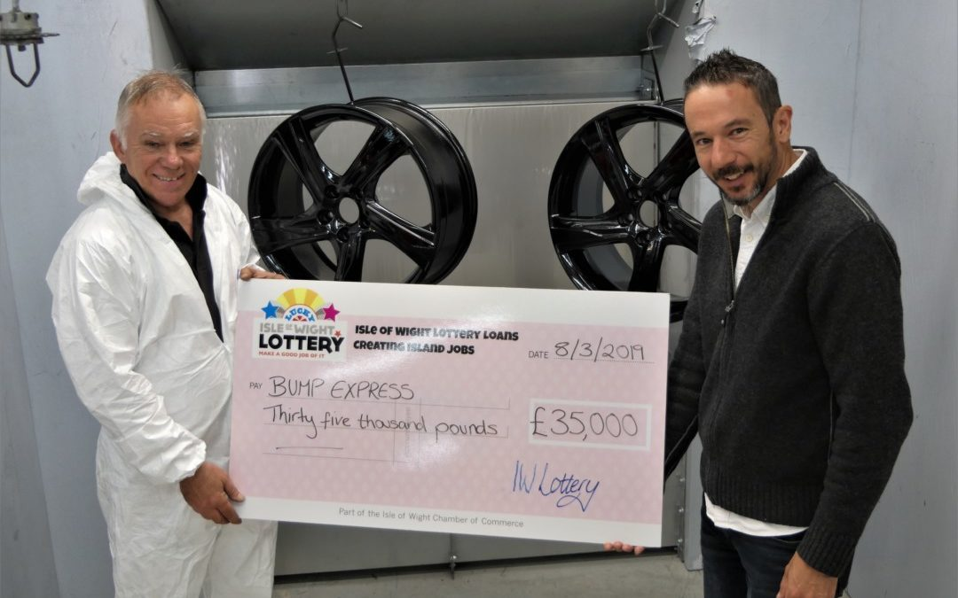 £35k IW Lottery loan helps Bump Express
