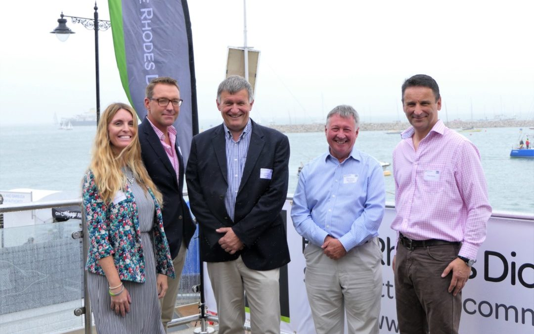 IW Chamber Cowes Week BBQ with Hose Rhodes Dickson