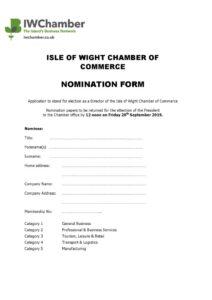 thumbnail of AGM Nomination Form 2019