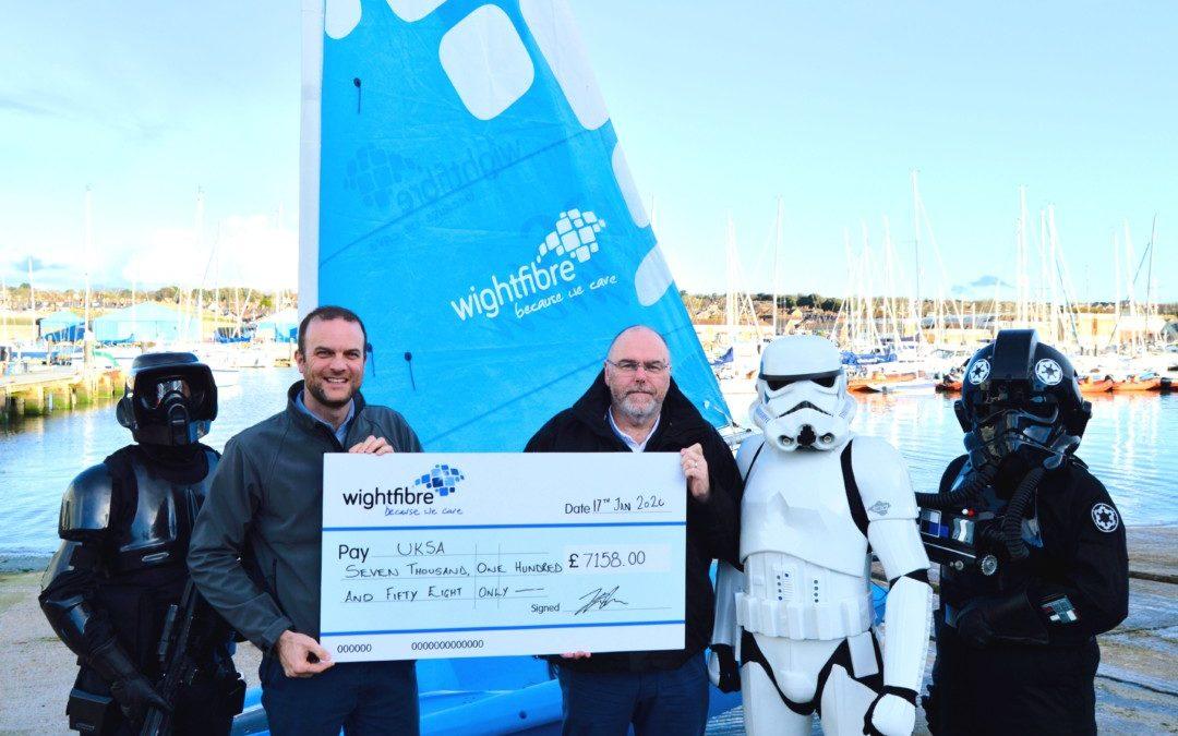WightFibre's Star Wars event raises over £7,000 for UKSA