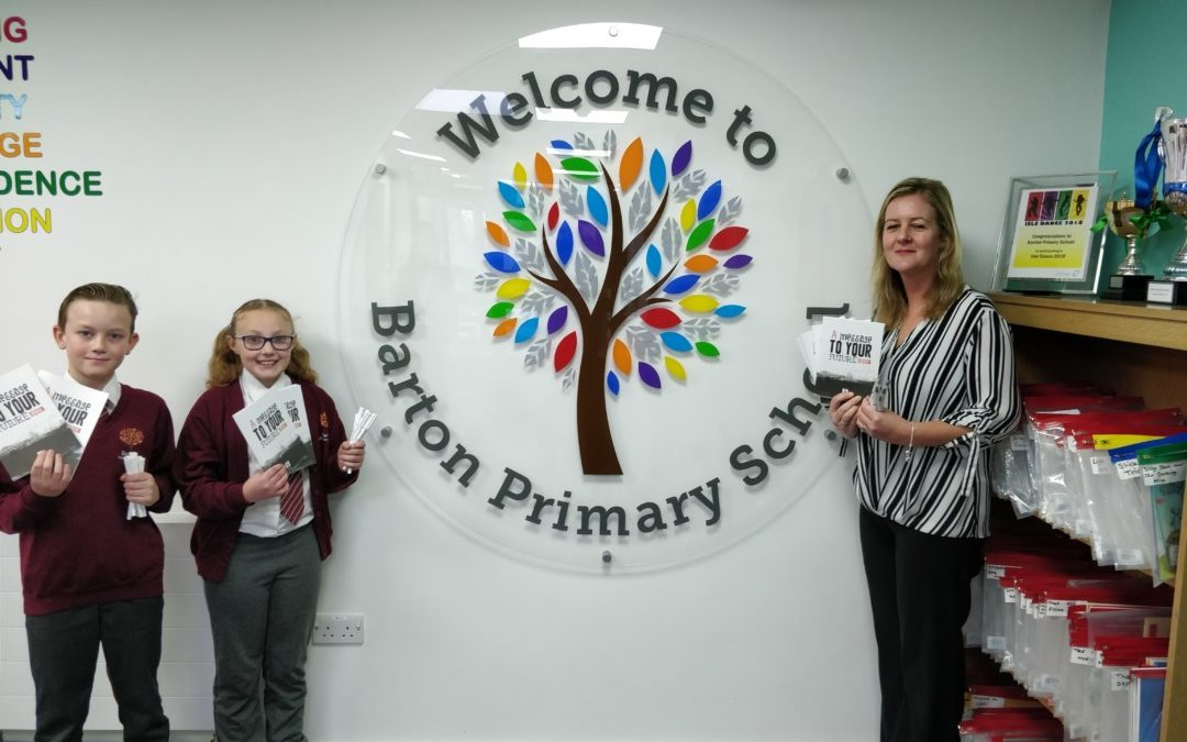 Stationery Discovery Benefits Barton Primary School