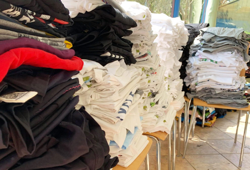 Local businesses join forces to provide scrubs for Carers