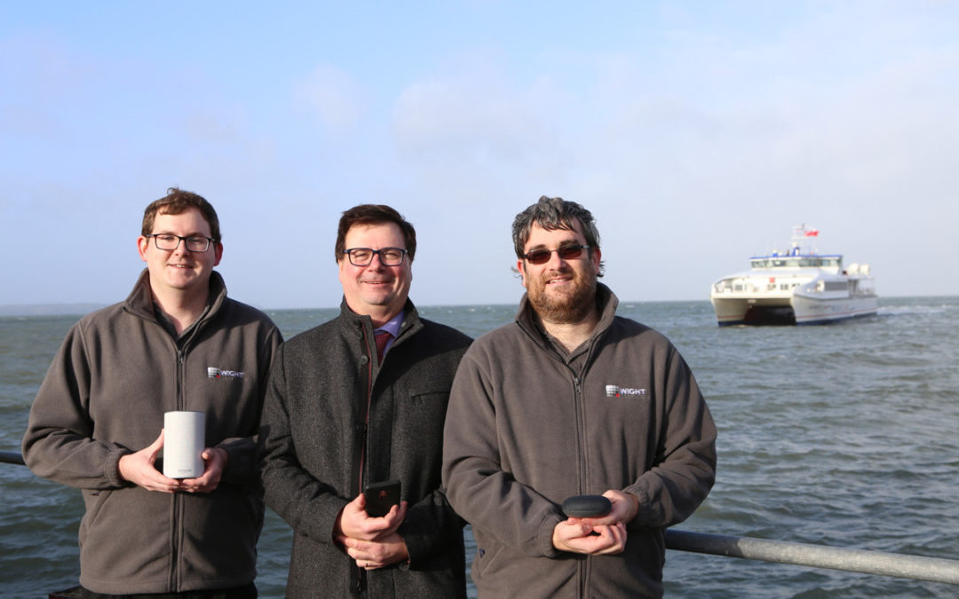 Wight Computers create voice-assisted service for Wightlink