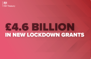 £4.6 billion in new lockdown grants to support businesses and protect jobs