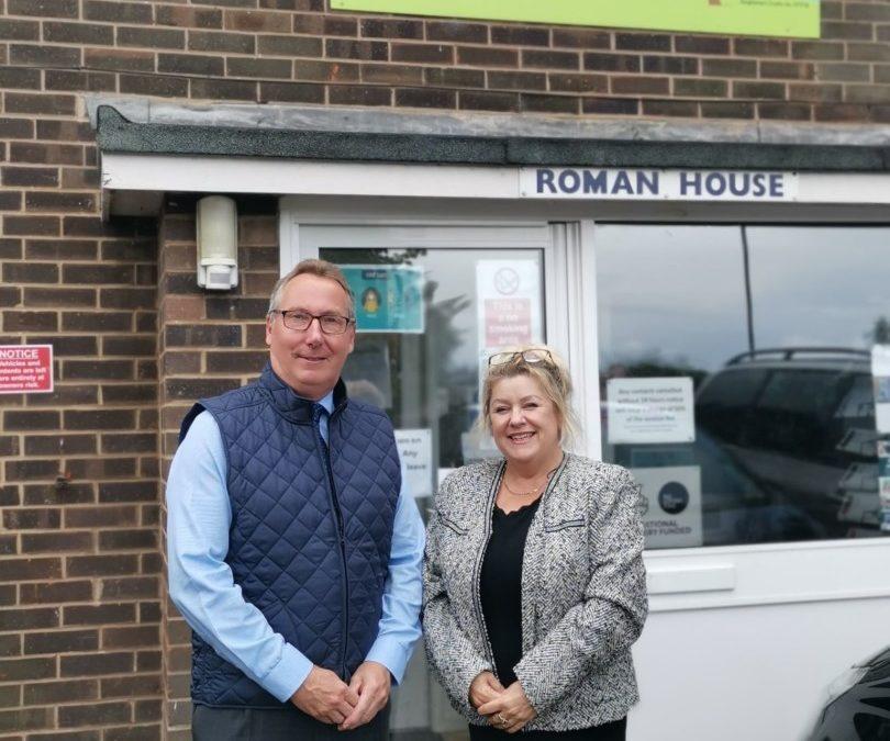 Deputy Lord Lieutenant visits Jigsaw Family Support